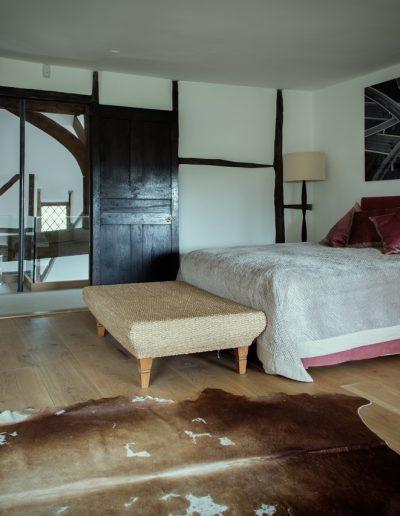 tudor style bedroom